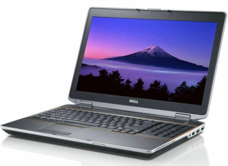Portable 15 pouces : Dell E6520 (Intel i7, RAM 8 Go, 500 Go de disque dur) à 380 € TTC