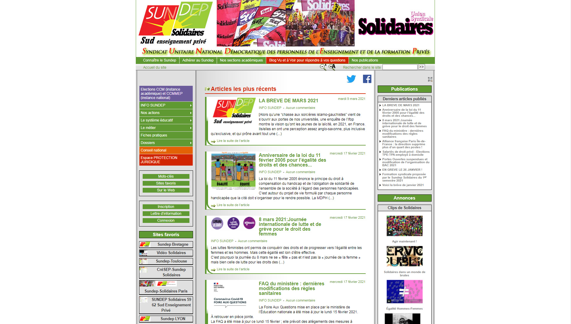 SUNDEP Solidaires