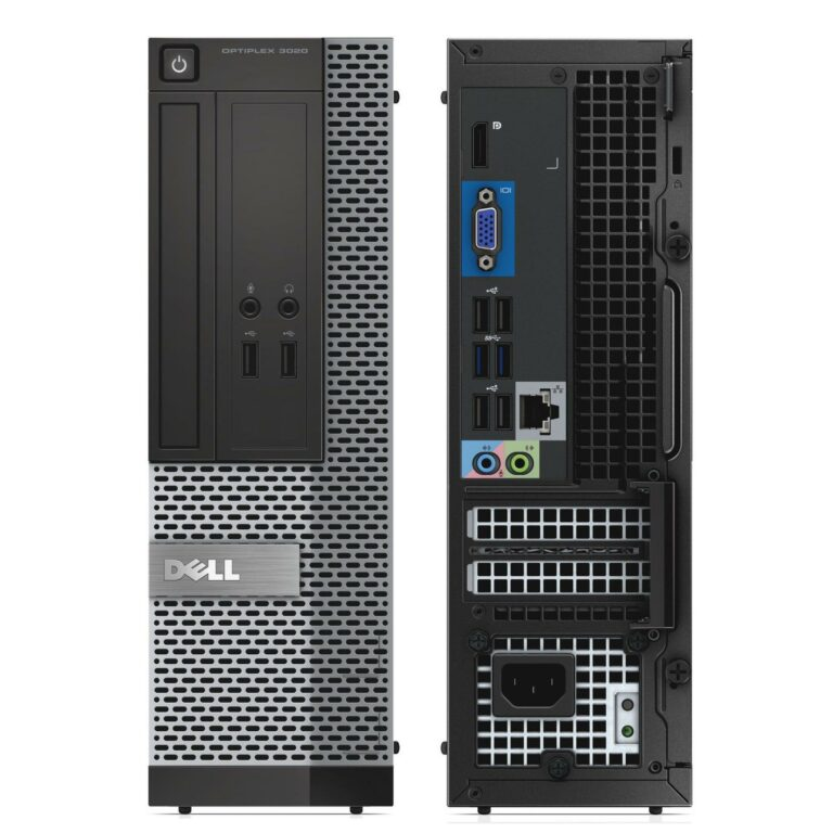 Ordinateur de bureau : DELL Optiplex 3020 (Intel i5, RAM 8 Go, 500 Go SATA) à 280 € TTC